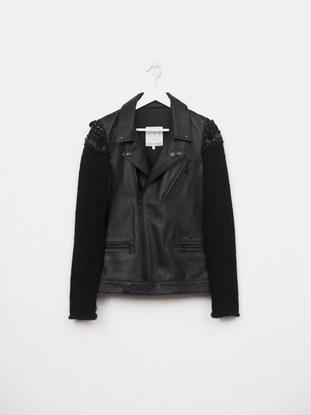 UNDERCOVER AW09 Joy Division Ethnic Leather Double Riders Jacket