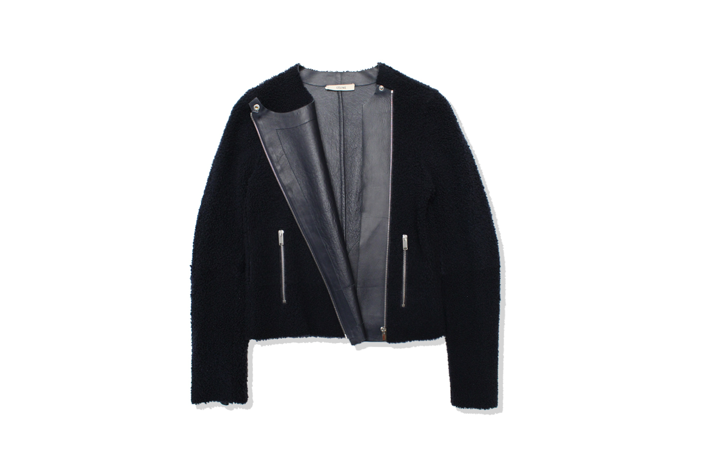 Phoebe Philo's CÉLINE Lamb Leather Riders Jacket