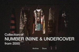 NUMBER (N)INEとUNDERCOVERのアーカイブ約300点が集結
