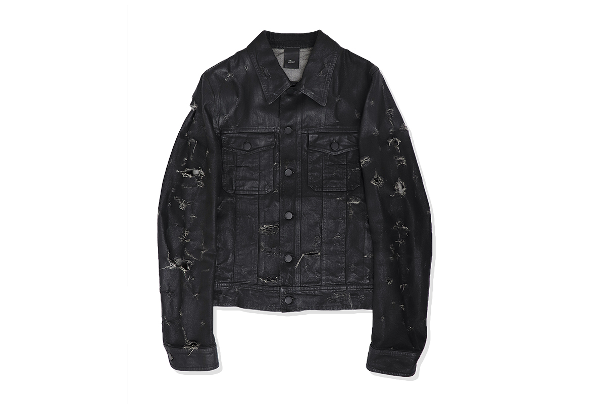 Dior homme Destroy Denim Jacket