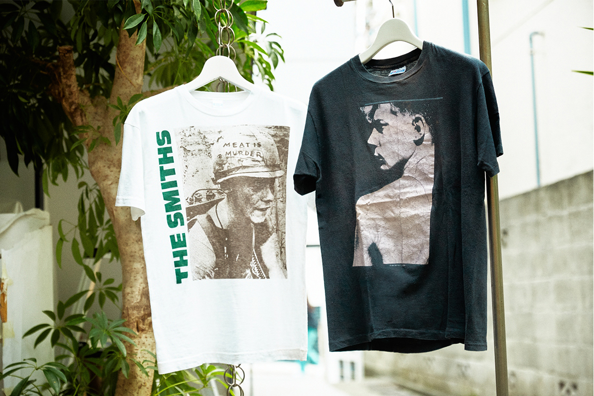 The T-shirt made as merchandise for The Smiths.